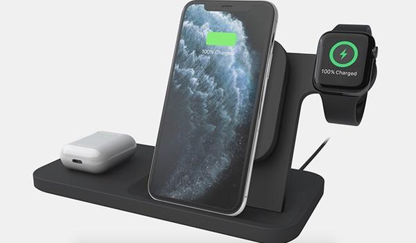 Laad Apple-gadgets tegelijk op met Powered 3-in-1 Charging Dock