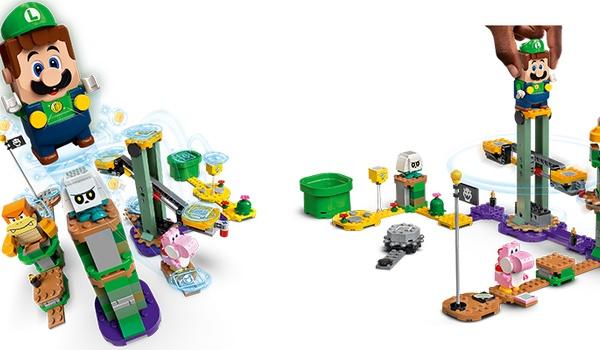 Avonturen met Luigi-starterset: Bouw zelf levels van Lego