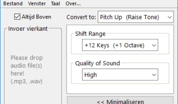 MooO Audio Effect - Geluidsbestanden wijzigen zonder technische kennis