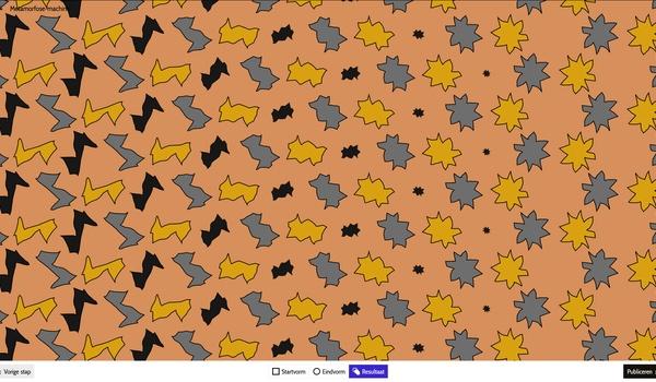 Eschers Metamorphose II - Ontdek het werk van Escher en maak uw eigen variant