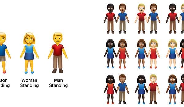 Nieuwe emoji in 2019: hand-in-hand en mindervaliden