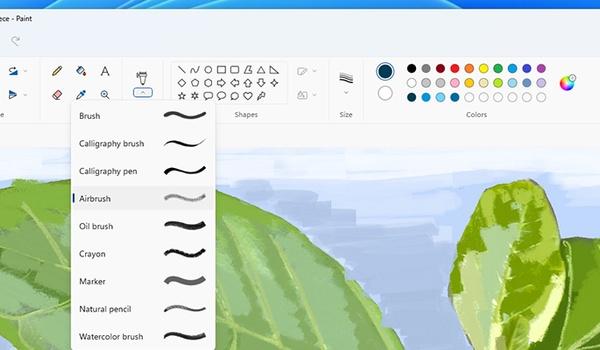 Paint krijgt nieuw likje verf in Windows 11