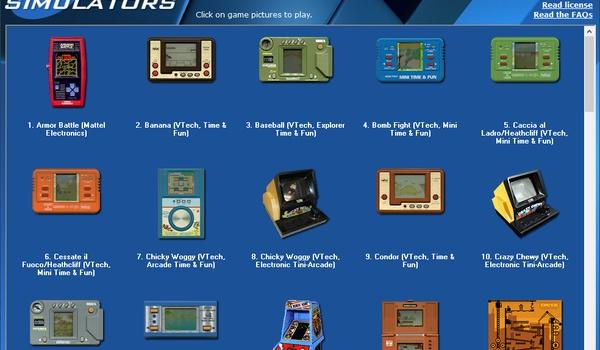 Madrigal's Simulators - Antieke pocket-games