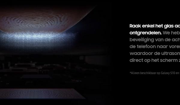 Patch voor onveilige vingerafdrukscanner Galaxy S10