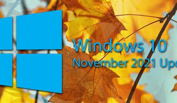 Verwacht niet teveel van de Windows 10 November 2021 Update
