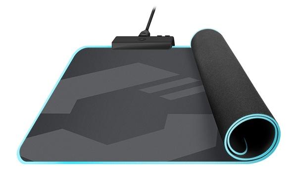 Levas Led Soft Gaming Mousepad: Muismat geeft licht