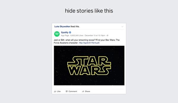 'Likes' van anderen filteren met Facebook Friends Feed-extensie