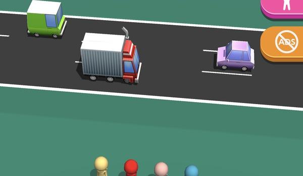 Road Race 3D - Oefenen met oversteken