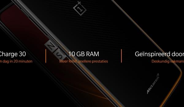 OnePlus 6T McLaren Edition: Sportauto onder smartphones