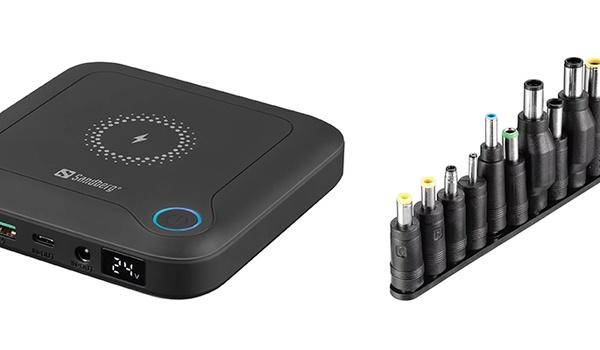Sandberg All-in1 Laptop Powerbank 24000 met twaalf adapters