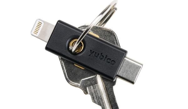 Veilig inloggen op iPhones met YubiKey 5Ci
