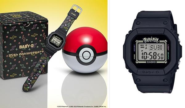 Casio komt met Pikachu-horloge voor de Pokémon-fan
