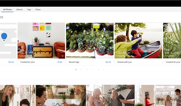 Update voor OneDrive in het teken van fotoalbums