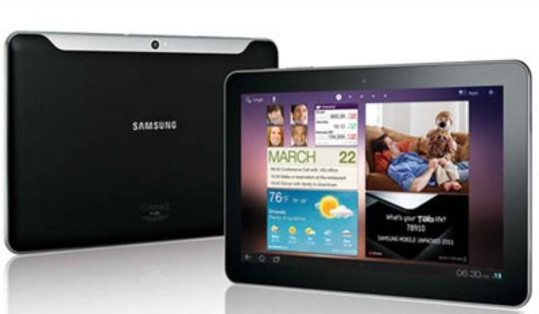 Samsung Galaxy Tab 10.1N voor Duitse markt