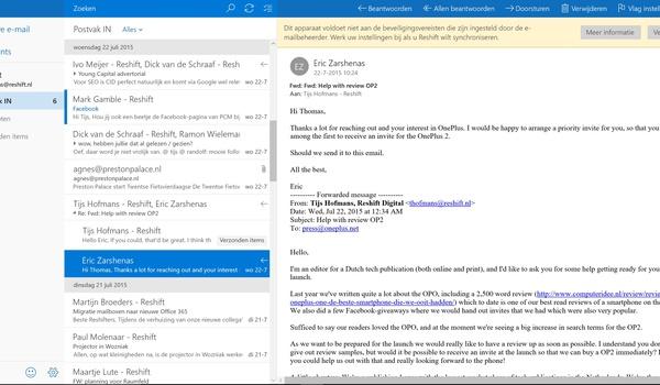 Windows 10: De standaard-apps