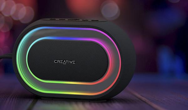 Licht en geluid met Creative Halo-speaker