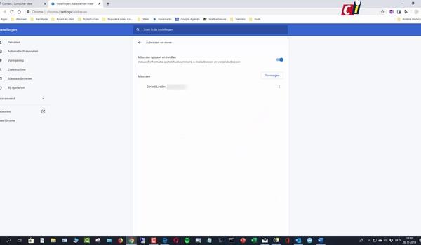 Auto-aanvullen in Edge en Chrome