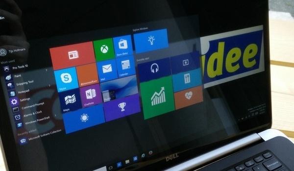Review Windows 10: Het uiterlijk