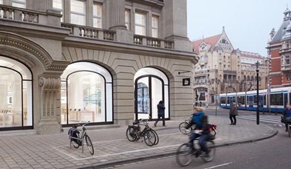 Amsterdamse Apple Store ontruimd na iPad-incident