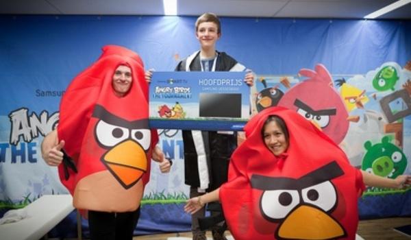 Angry Birds Tournament gewonnen door 12-jarige