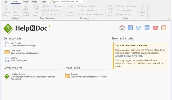 HelpNDoc - tekstverwerker voor help-docs
