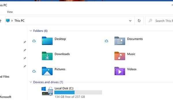 Opfrisbeurt voor icoontjes in Verkenner Windows 10
