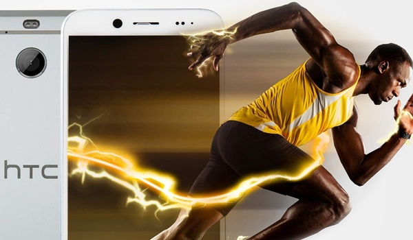 Smartphone HTC zo snel als Usain Bolt