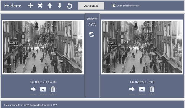 Awesome Duplicate Photo Finder - Identieke afbeeldingen identificeren