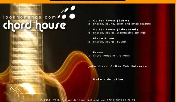 Chord House -  Alle akkoorden en toonladders die je maar nodig kunt hebben