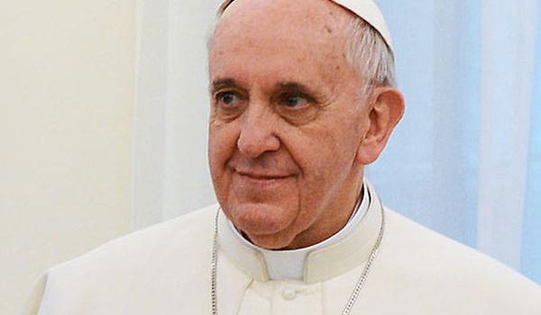 Paus Franciscus hangt rond op Hangouts