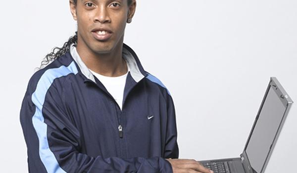 Ronaldinho-laptops en Ronaldo-mobieltjes