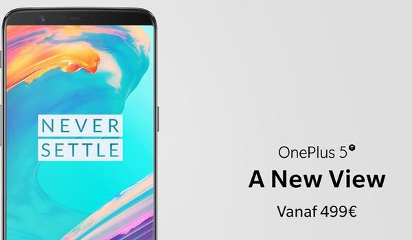 OnePlus 5T vanaf 21 november te koop