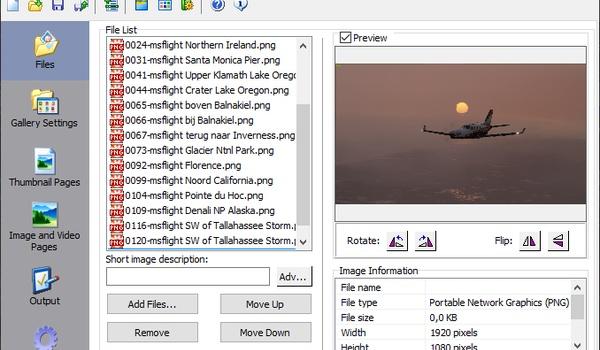 Easy Web Gallery Builder - Fotogalerij maken