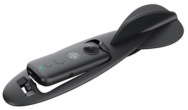 Gooi de Insta360 ONE X-camera als een dartpijl