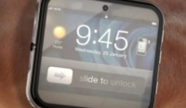Slim horloge van Apple