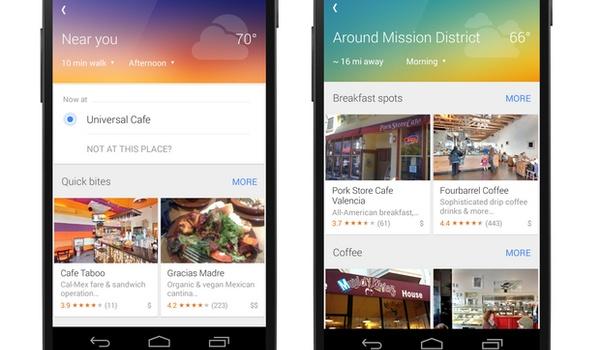 Explore-functie Google Maps op weg naar Android