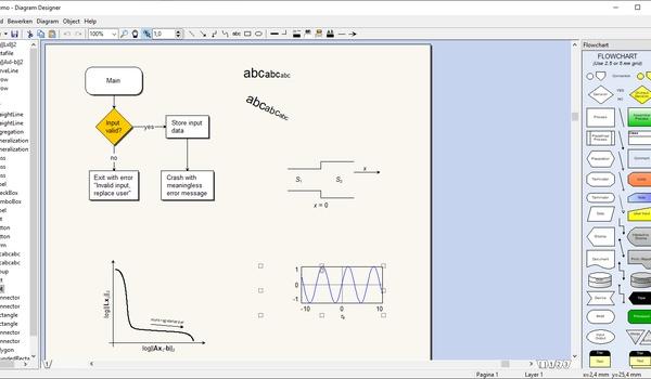 Diagram Designer - Maak stroomschema's en andere diagrammen.