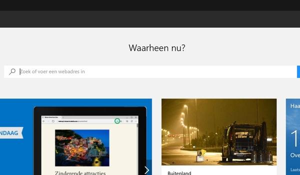 Review Windows 10: Edge