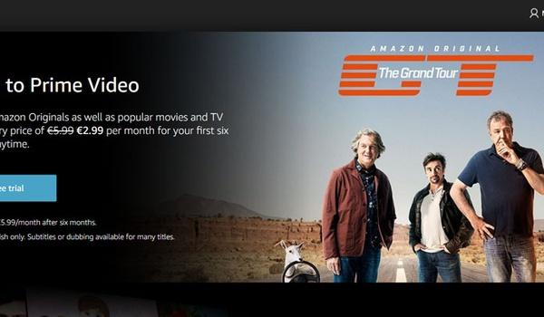 Amazon Prime Video zoekt concurrentie met Netflix nu ook in Nederland