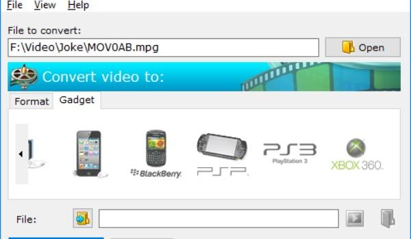 Convertilla - Converteer video's voor het gewenste afspeelapparaat