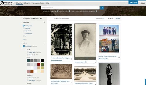 Europeana Collections - Duik in de rijke geschiedenis van Europa