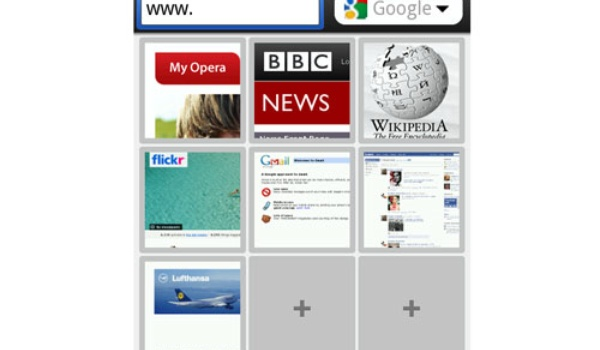 Opera Mobile ook op Android