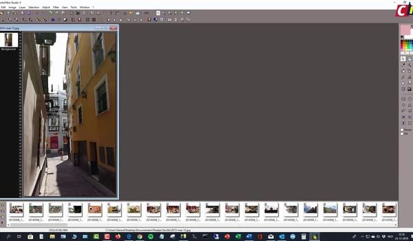PhotoFiltre: basics fotobewerking