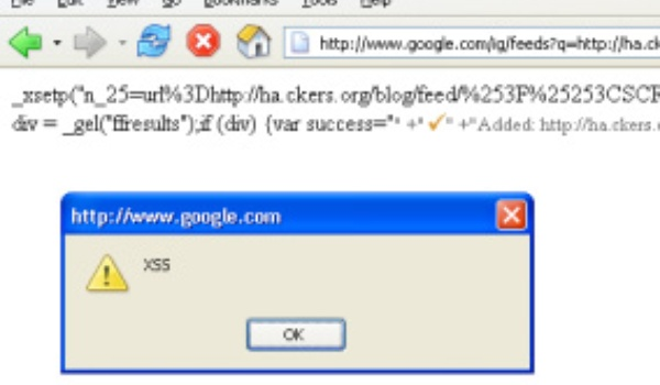 Google dicht lek in Google Reader