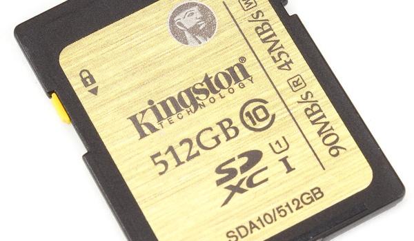 Review: Kingston SDXC UHS-I 512 GB