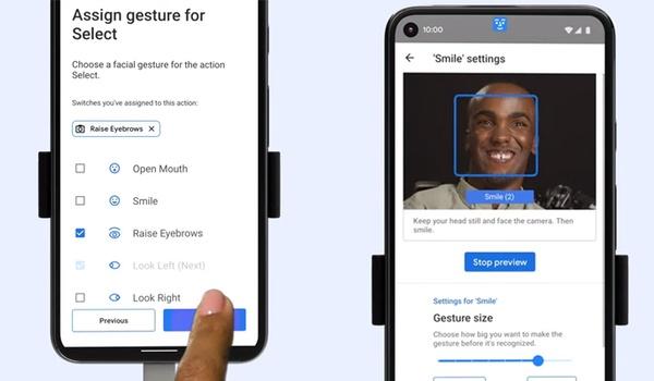 Android straks met gezichtsuitdrukkingen te bedienen
