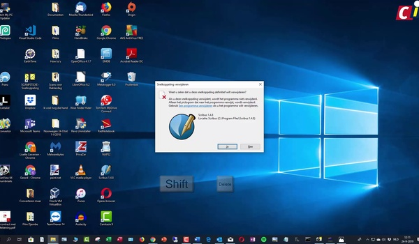 Windows 10: bureaublad organiseren