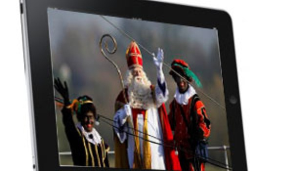 Sint gaat voor tablet