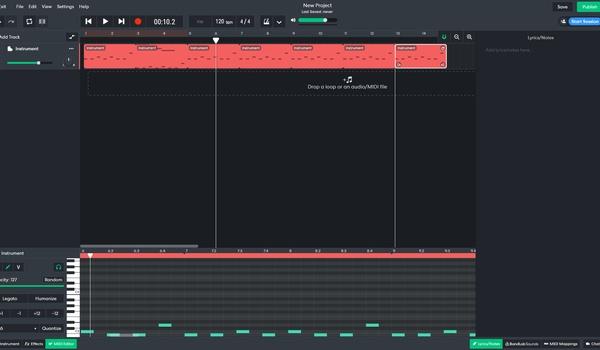 BandLab - Sociaal netwerk om muziek te delen
