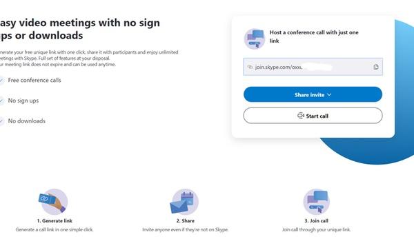 Skype zonder account te gebruiken met Meet Now-functie